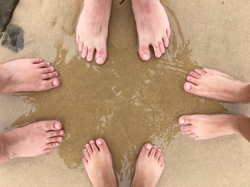 Family feet picture